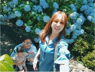 ソ・ユジン♡ペク・ジョンウォン夫妻、済州島で家族旅行を楽しむ♪