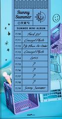 「GFRIEND」、新譜「Sunny Summer」のカムバックスケジューラーを公開!