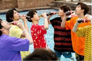 パク・ボゴム&「防弾少年団」出演、コカ・コーラCM撮影未公開カット。