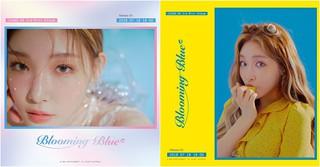 歌手チョンハ、新譜「Blooming Blue」の2次フォトを公開!爽やかレモン少女♪