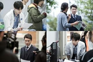 イ・ドンウク&チョ・スンウ主演「ライフ」、新JTBCドラマ「ライフ」のオフショット公開。