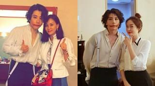 コ・ソヨン&ソン・ユリがミュージカル「笑う男」のパク・ヒョシンの応援に駆け付ける!