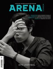 俳優リュ・ジュンヨル、雑誌「ARENA HOMME+」の3種カバーを飾る!