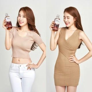 """女優ユ・インナ、新しいお茶の広告モデルに抜擢!""""コーラ瓶""""のようなスタイルを見せる!"""
