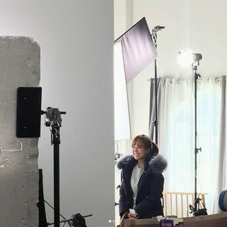女優ソ・ユジン、猛暑の中でも笑顔を忘れず冬物ジャケットの広告撮影に挑む!?