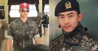 """助教の象徴""""赤い帽子""""を被って軍服務につく「2PM」テギョンの近況が公開!"""
