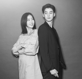 JTBC「私のIDは江南美人」主演チャ・ウヌ&イム・スヒャン、美男美女のグラビア