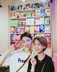 軍入隊を果たした「2AM」チョ・グォン、17年来の友人である元「Wonder Girls」のソネに会う♪