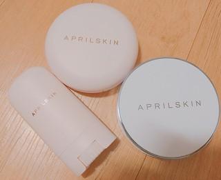 【韓国コスメ】今夏使ったAPRILSKINの商品たち。
