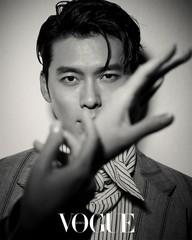 俳優ヒョンビン、「VOGUE KOREA」で見せた魅惑のまなざし!