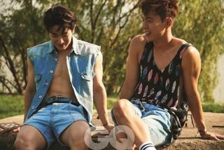 「MONSTA X」ショヌ&ウォンホの男性美溢れるグラビア写真が公開!