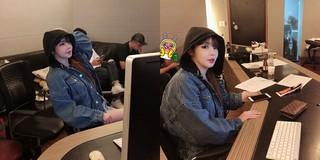 元「2NE1」パク・ボム、レコーディングルームでの近況写真を公開!