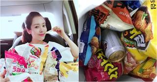 女優ハン・ジミン、たっぷりのお菓子と記念写真♪キュートな近況が公開!