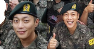 軍入隊を果たした「Highlight」ユン・ドゥジュン、訓練所での近況写真が公開!