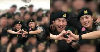 同時期に入隊の「Highlight」ユン・ドゥジュン&「BTOB」ソ・ウングァンが同部隊の同期に!?