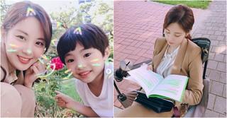 「少女時代」ソヒョン、ドラマ「時間」の撮影現場で子役とヒーリングタイム♪