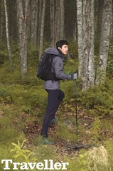 俳優チャン・ヒョク、アラスカで男性美溢れるトラベルファッションを披露!