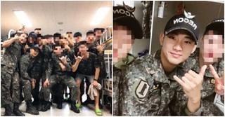 俳優キム・スヒョン、軍隊での近況写真が公開!仲間と和気あいあい♪