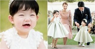 ソ・イヒョン♡イン・ギョジン夫婦の次女ソウンちゃん、1歳のお誕生日を迎える♪