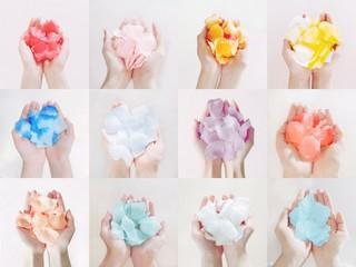 「IZONE」、12人のメンバーを象徴する12色のバラのイメージを公開する!