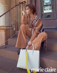 """女優ユ・インナ、愛らしい冬ファッションを披露♪作品選択の基準は""""自分にできるか、できないか"""""""