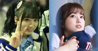 「IZONE」矢吹奈子、韓国式メイクもよく似合う♪可愛らしさ急上昇!!