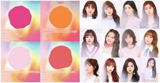 「IZONE」、デビューアルバム「COLOR*IZ」のハイライトメドレーを公開!