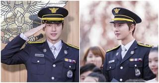 俳優パク・ヘジン、消防の日を迎えた韓国で名誉消防官に任命される!