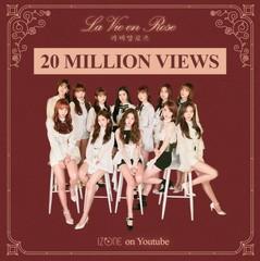 "「IZONE」、デビュー曲""La Vie en Rose""が再生回数2000万ビューを突破!"