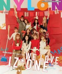 「IZONE」、全員揃って初めてファッション誌の表紙を飾る♪