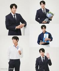 俳優ユ・ヨンソク、広告モデル撮影で見せるスーツ姿に胸キュン!