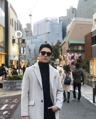 俳優ソ・ハジュン、原宿でモデルポーズを見せる近況ショット!