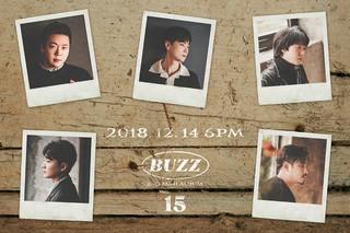 デビュー15周年を迎えるバンド「BUZZ」、ミニアルバムリリース&コンサート開催決定!