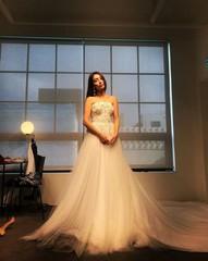 女優イ・ミンジョンがウェディングドレス姿を披露!ドラマ「運命と怒り」に期待大!
