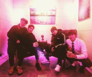 事務所を離れたZICOが「Block B」のメンバーたちと再会!