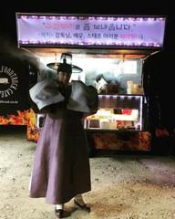 俳優チョン・イル、復帰作「ヘチ」の衣装でケータリングの差し入れに感謝♪