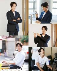 俳優ユ・ヨンソク、端正な姿からやわらかい笑顔まで!広告撮影中の写真が公開!