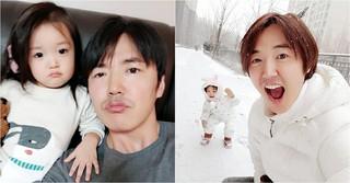 第三子誕生で話題のユン・サンヒョン♡Maybee夫婦、長女のナギョムちゃんが超カワイイ!
