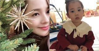 ユジン&キ・テヨン夫婦の愛娘ロヒちゃん、驚くほど成長した姿を見せる♪~ママにそっくり~