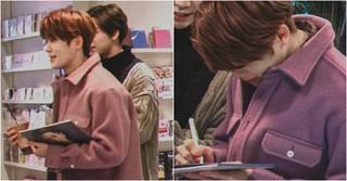 「NCT」ジェヒョン、偶然自分のアルバムを買おうとするファンに遭遇したら??