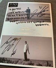 ユン・ジョンシン、「東方神起」ユンホからもらったサイン入りアルバムを公開