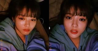 女優キム・ユジョン、寝ころんで撮ったセルカも可愛い!?
