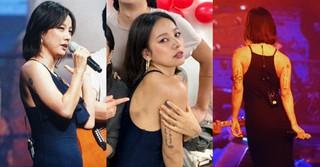 歌手イ・ヒョリ、IUのコンサートにサプライズ登場!現在の体重は57キロ!?