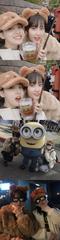 「TWICE」ナヨン♥モモ、USJで楽しい休暇~