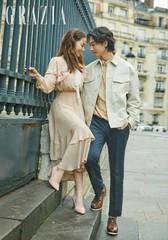 キ・テヨン♡ユジン夫婦、7年ぶりにパリでカップルグラビアを撮影する♪