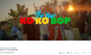 「EXO」、「Ko Ko Bob」のMVも2億ビュー突破!