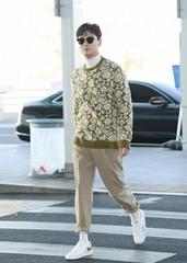 [空港ファッション]チュ・ジフン、空港をランウェイに!!