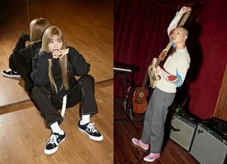 「Red Velvet」スルギ×「HYUKOH」オ・ヒョク、「コンバース」のキャンペーンに参加!