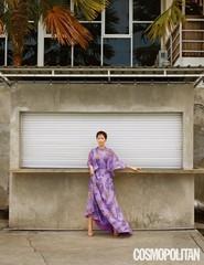 「SKYキャッスル」で大人気!女優ヨム・ジョンアがバリで魅せる優雅なグラビアが公開!